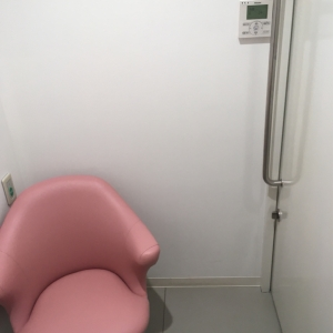 2階 授乳室 施錠可能