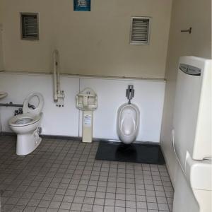 街かど公園内公衆トイレ(1F)のオムツ替え台情報 画像1