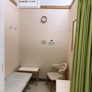 奥側の授乳室内部