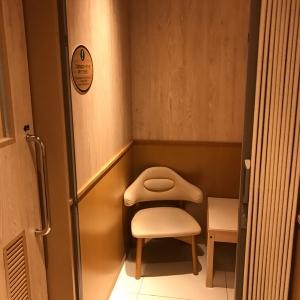 授乳室入って左手の個室