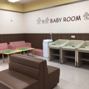 イオン相模原店(3階 赤ちゃん休憩室)の授乳室・オムツ替え台情報 画像8