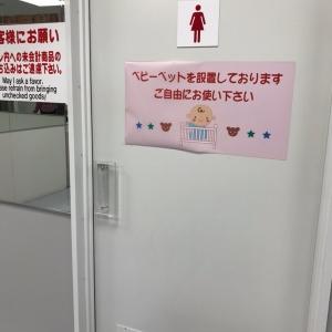 ヤマダ電機 テックランド西神戸店(女子トイレ内)の授乳室・オムツ替え台情報 画像3