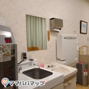 お湯、手洗い場、オムツ台