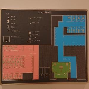 JR新宿駅 ミライナタワー・甲州街道・新南改札内多目的トイレ(2F)のオムツ替え台情報 画像4