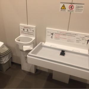 豊島区役所(5F 多目的トイレ)のオムツ替え台情報 画像1