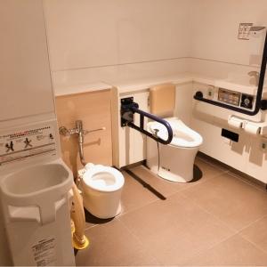 綺麗なファミリートイレが二ヶ所
