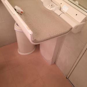 2つトイレあり、どちらでもオムツ替え可能