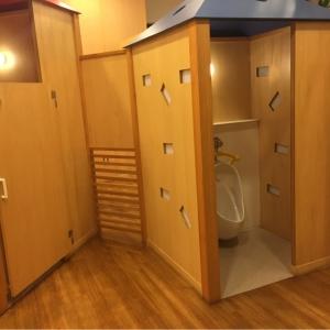 子供用のトイレあり