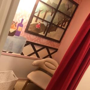 授乳室の個室