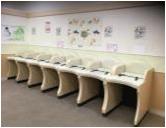 イオンモール鶴見緑地(3階 赤ちゃん休憩室)の授乳室・オムツ替え台情報 画像5
