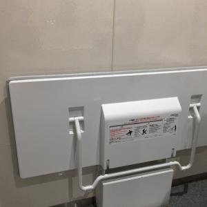 大船駅構内(多機能トイレ)のオムツ替え台情報 画像2