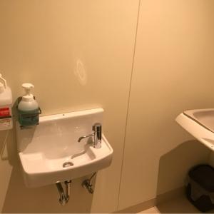 室内に手洗いがあります。