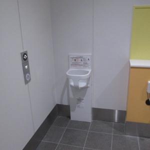 下北沢駅南西口トイレ(1F)のオムツ替え台情報 画像2