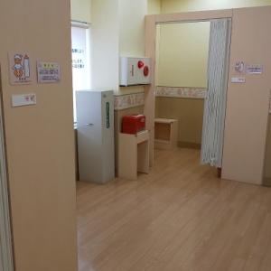 授乳室が2つあります。