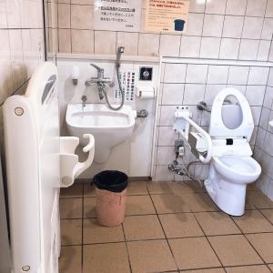 厳島神社(多機能トイレ)のオムツ替え台情報 画像1