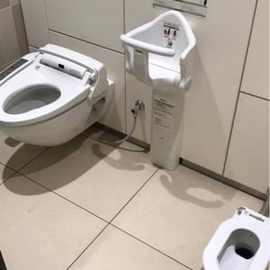 親子トイレ併設。