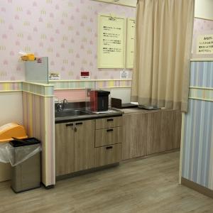 イオン穂波ショッピングセンター(2F)の授乳室・オムツ替え台情報 画像9