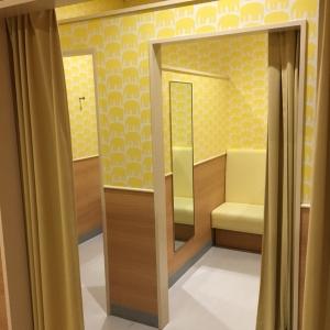 授乳室3部屋あります。