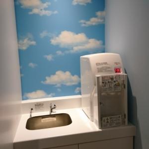 フライトオブドリームズ2階 授乳室 手洗い場