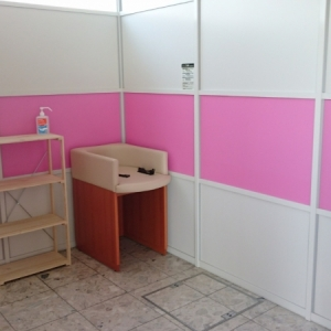 つどーむ入り口(1F)の授乳室・オムツ替え台情報 画像2