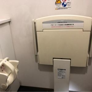 広めの個室トイレにありました。