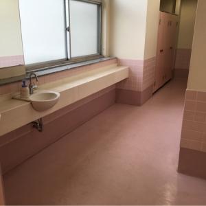 女性用トイレ手洗いスペース