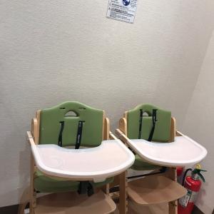 離乳食用の椅子もありました