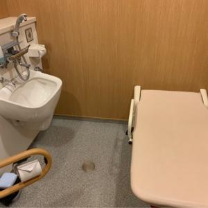 多目的トイレ 大きめベット