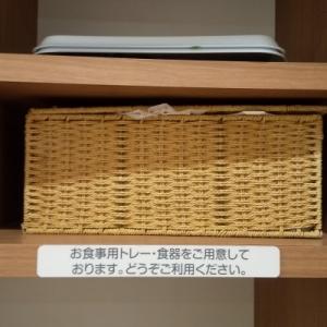 赤ちゃん用のお椀やお皿が無料で使えて使用後はそのまま返却かごに置くだけでとても親切(  ;;)