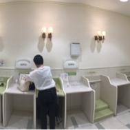 ジェイアール名古屋タカシマヤ(8階 赤ちゃん休憩室)の授乳室・オムツ替え台情報 画像10