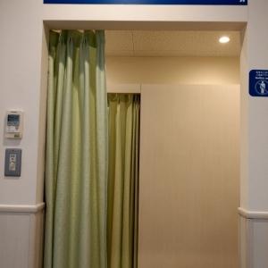 授乳室入り口。