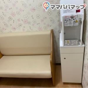 奥の授乳室。女性専用です。
