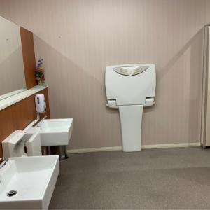 女性用トイレ おむつ台