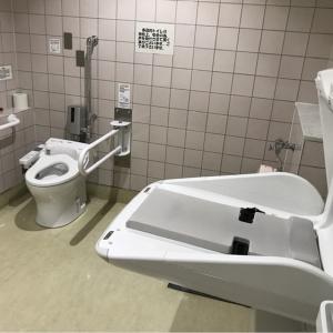イトーヨーカドー大井町店(1F 多目的トイレ)のオムツ替え台情報 画像1