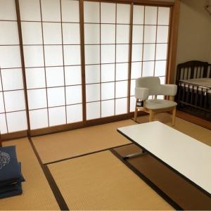 広い和室です