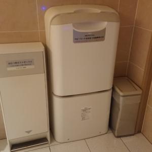 京都高島屋(7F 多目的トイレ)のオムツ替え台情報 画像3