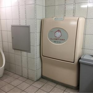万代 貝塚店(1階 右奥の女子トイレ)のオムツ替え台情報 画像1
