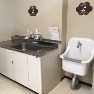 手洗い用と調乳用に分かれてました。