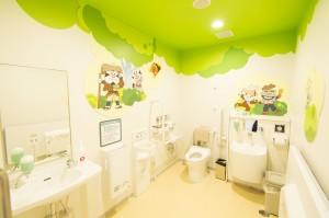 福岡アンパンマンこどもミュージアムinモールの授乳室・オムツ替え台情報 画像2