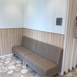レストスペースのソファです。