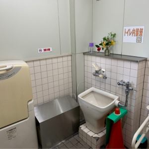 多目的トイレ おむつ台