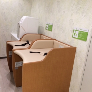 キュープラザ原宿(B1F)の授乳室・オムツ替え台情報 画像2