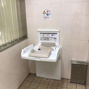 青井駅(B1)のオムツ替え台情報 画像1