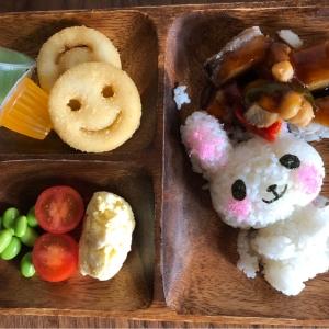 キッズ用ご飯(白身魚の野菜あんかけ)