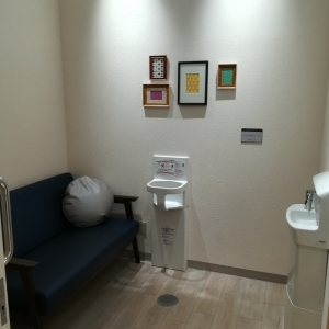 授乳個室内部(手洗いあり)