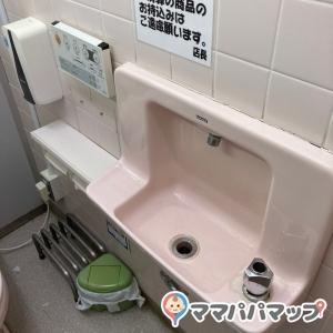 個室内に手洗い場