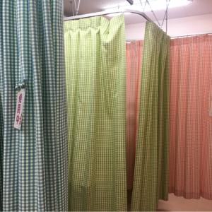 青いカーテンの部屋はカーテンが閉まりきらなので注意です。