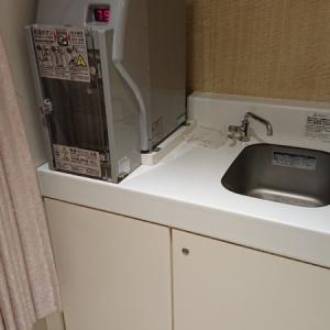 手洗い場、お湯