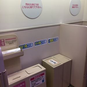 イオン布施駅前店(3F)の授乳室・オムツ替え台情報 画像9