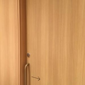 鍵付きの扉です